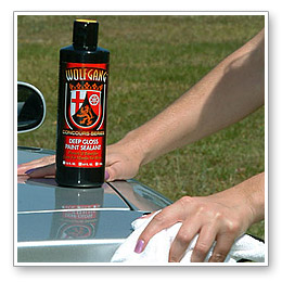 Wolfgang Deep Gloss Paint Sealant 3.0 lasts the more typical 4 to 6 months.