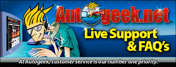Autogeek Live Support and FAQ's