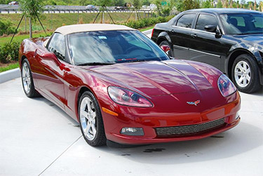 This Corvette C6 was detailed with Wolfgang car care products!