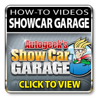 Click to View Autogeek Show Car Garage How To Videos