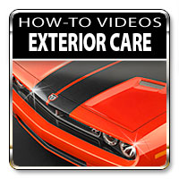 Proper exterior car care