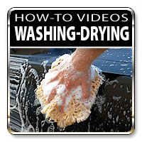 How to wash and dry your car