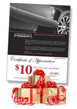 $10 Gift Certificates from Autogeek.net!